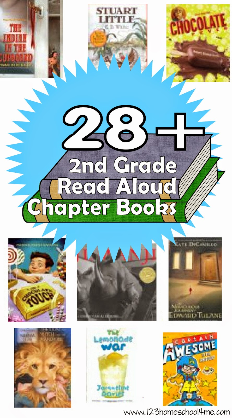 Best 2nd Grade Reading List 123 Homeschool 4 Me
