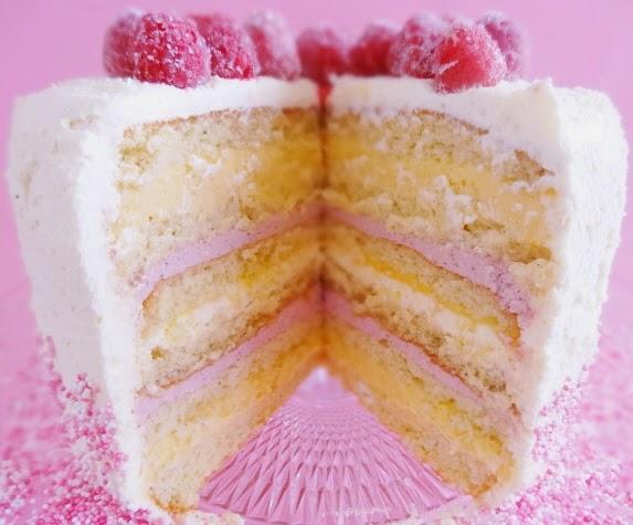 tårta med vaniljkräm