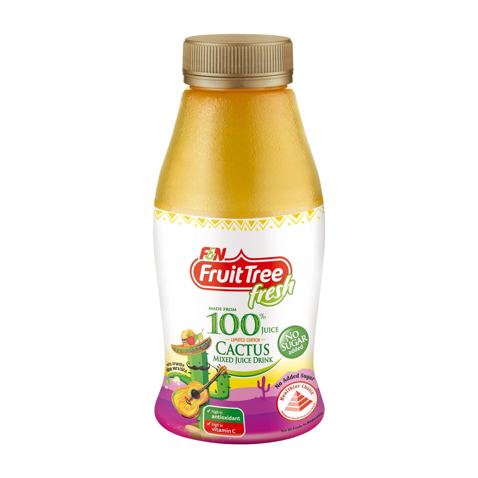 meryl limited edition f n fruit tree fresh cactus mixed juice drink