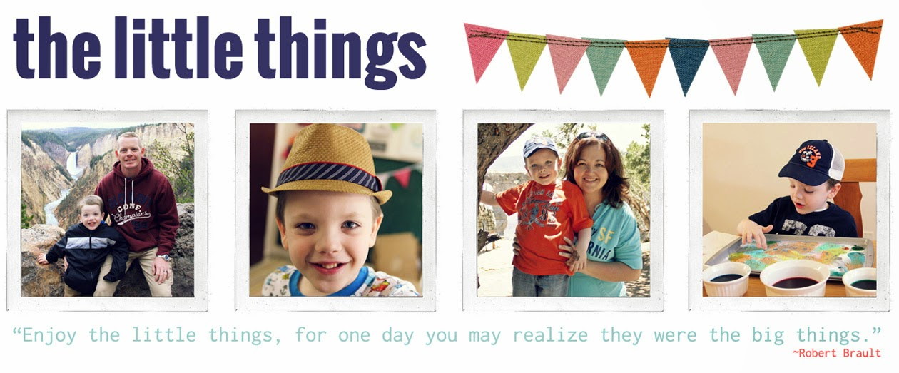 the little things...{theBalfamilyblog}