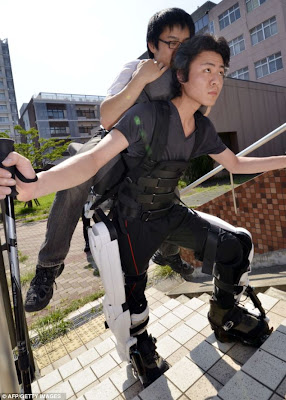 Hybrid Assisted Limb (HAL) robo-suit