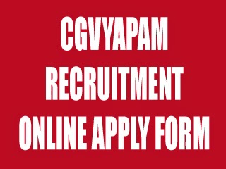 cgvyapam-org-in-job
