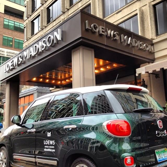 Fiat at Loews Hotels at Washington D.C.