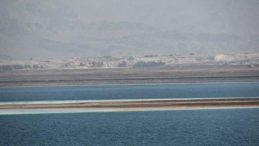 Desaparecimento gradual do Mar Morto é 'corrigido' com solução polêmica