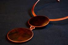 Collar Cobre Picoyo negro (145)