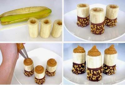 banana chocolate -  festa infantil bh - tema macaco
