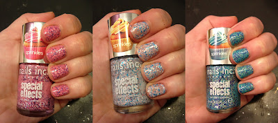 Nails Inc., Nails Inc. nail polish, Nails Inc. nail lacquer, Nails Inc. Special Effects, Nails Inc. Special Effects Sprinkles nail polish, Nails Inc. Special Effects Sprinkles Pudding Lane, Nails Inc. Special Effects Sprinkles Sweets Way, Nails Inc. Special Effects Sprinkles Topping Lane, nail, nails, nail polish, polish, lacquer, nail lacquer, mani, manicure, Nails Inc. mani, Nails Inc. manicure