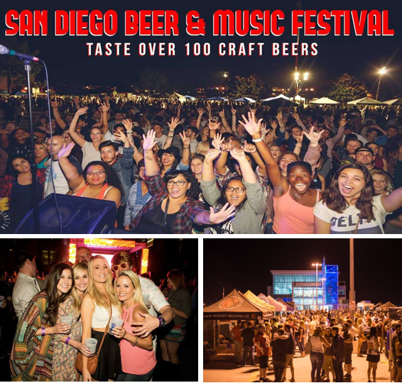 Save on passes & Enter to win VIP Tickets to the San Diego Beer & Music Festival - April 8!