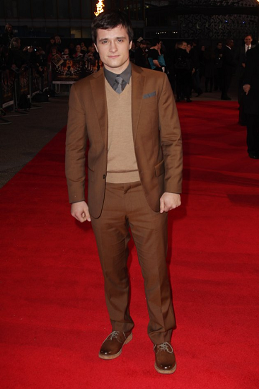 Josh Hutcherson on Hunger Games European Movie Premiere