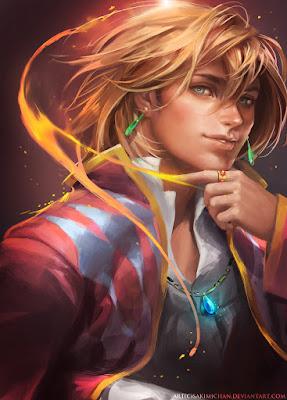 http://sakimichan.deviantart.com/art/Howl-277821324