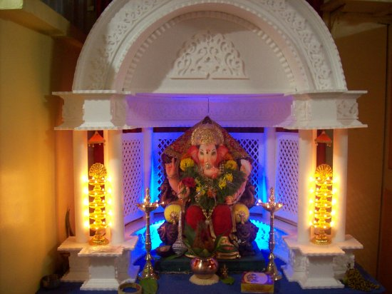 Ganpati Decoration Ideas For Home : Unique ganpati home decoration ideas eco friendly tips