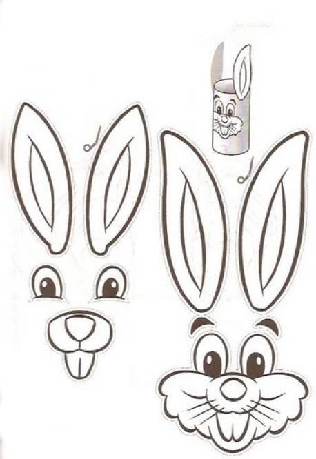 Imagenes de caritas de conejitos - Imagui