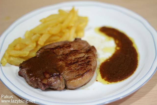 Lazy blog solomillo con salsa de foie for Como preparar solomillo