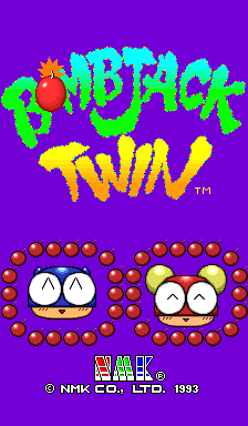 Bomb Jack Twin arcade game portable download free