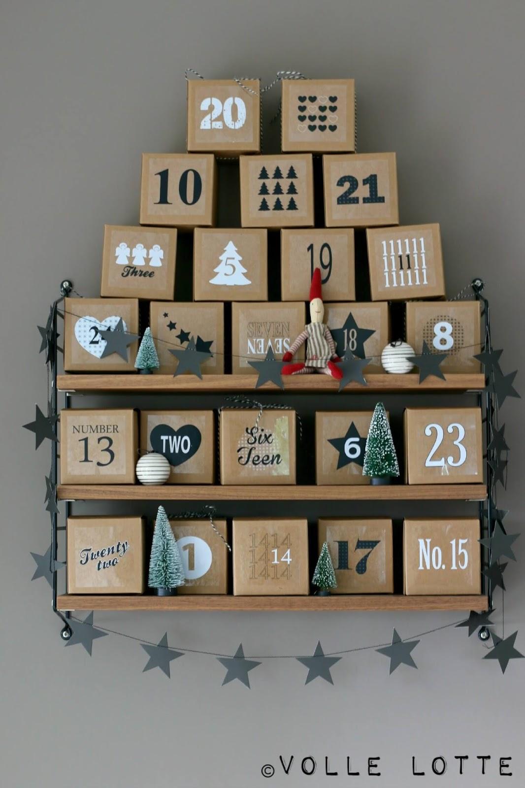 adventskalender ja oder nein volle lotte. Black Bedroom Furniture Sets. Home Design Ideas