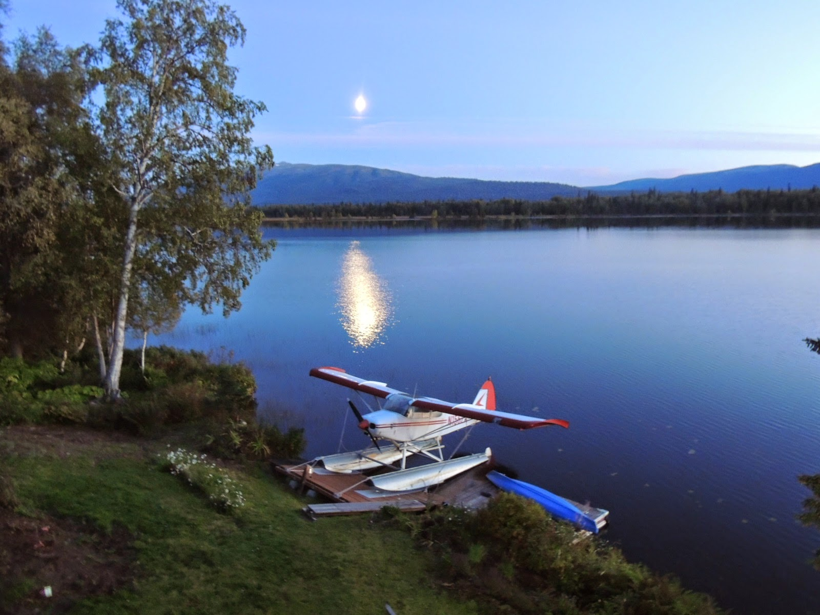 Alaska bush life off road off grid float plane differences from