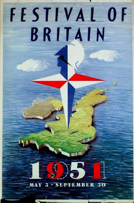 The Festival of Britain Poster 1951.