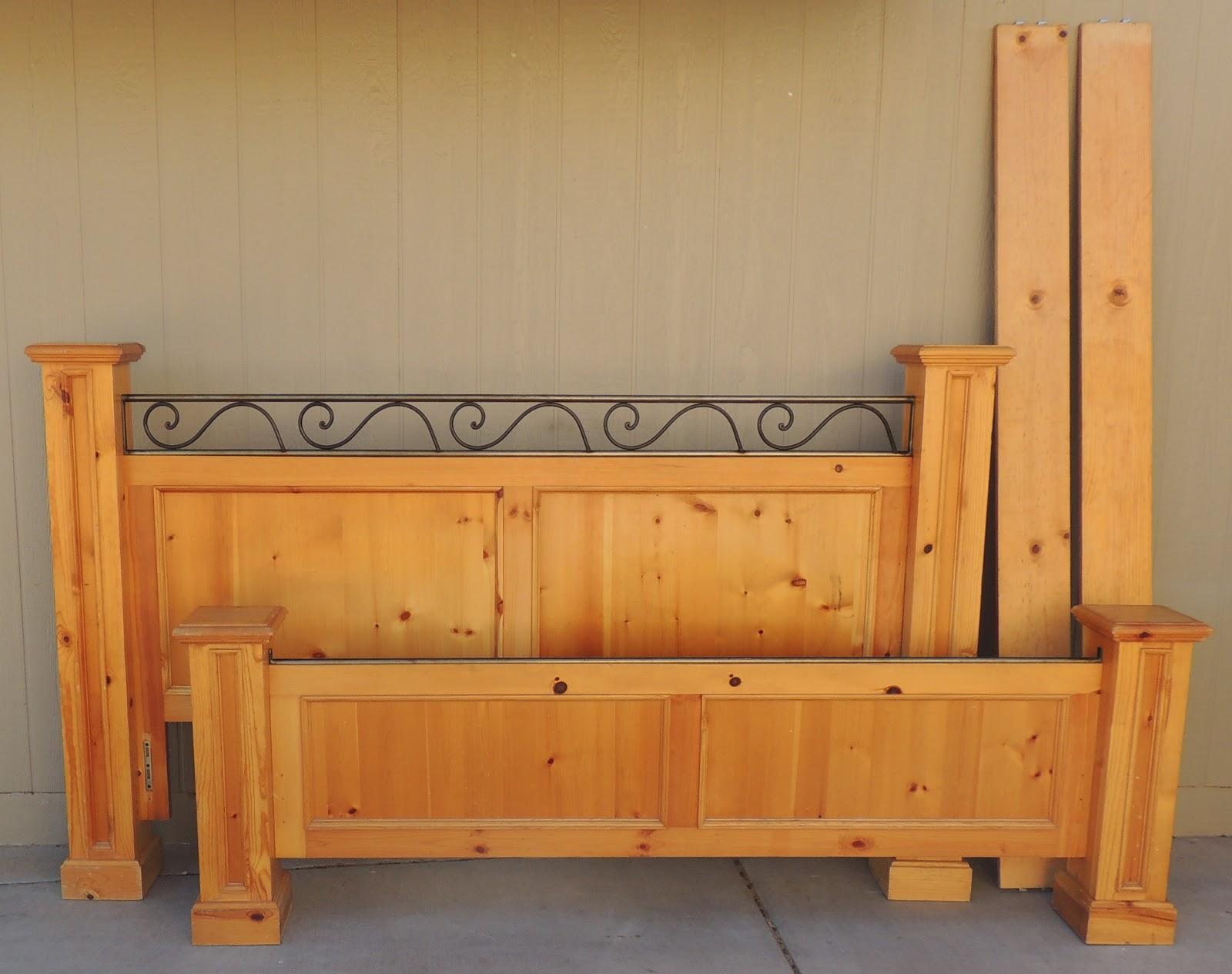 the backyard boutique by five to nine furnishings california king headboard footboard side. Black Bedroom Furniture Sets. Home Design Ideas