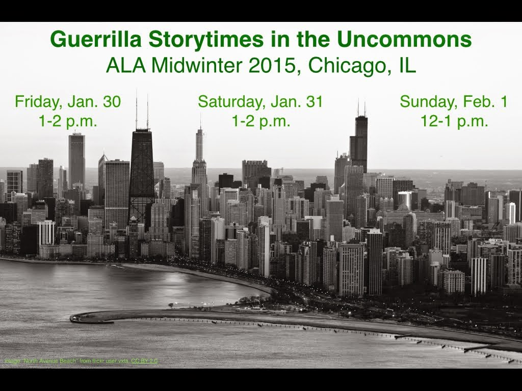 Guerrilla Storytimes @ Midwinter 2015!