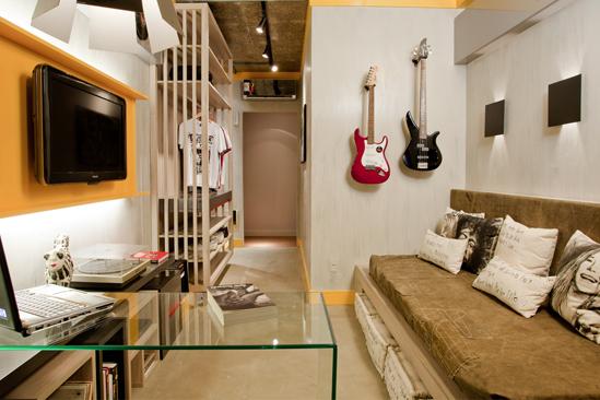Bricolage e Decoração Quartos Pequenos de Rapaz com lugar para as Guitarras