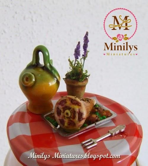 Mini asado de carne