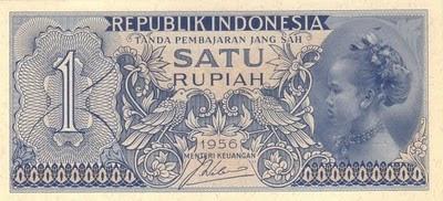Rp1 Tahun 1956