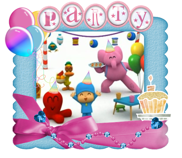 Decoración de Fiestas Infantiles de Pocoyo | Arcos con Globos ...