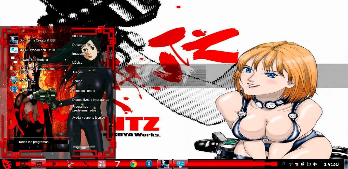 Gantz [ Theme Win 7 ] 1