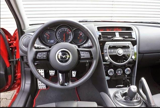 2017 MAZDA RX-8 Interior