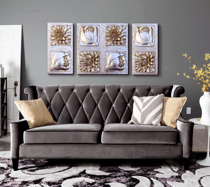 Cuadros online comprar cuadros tripticos - Cuadros originales para salon ...