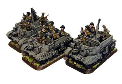 WW2 Soviet Troop Transports - Flames of War 15mm