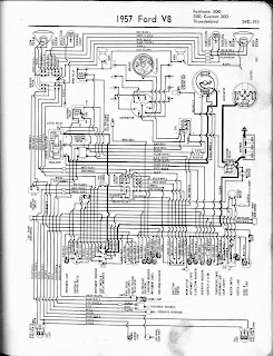 1957 FordV8 Fairlane Cusrom300 Thunderbird Wiring free auto wiring diagram may 2011 1957 thunderbird wiring diagram at crackthecode.co