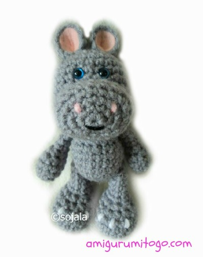 Amigurumi Hippo Pattern Free : Little Bigfoot Hippo Free Crochet Pattern ~ Amigurumi To Go