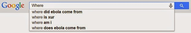 Where Google AutoSuggest