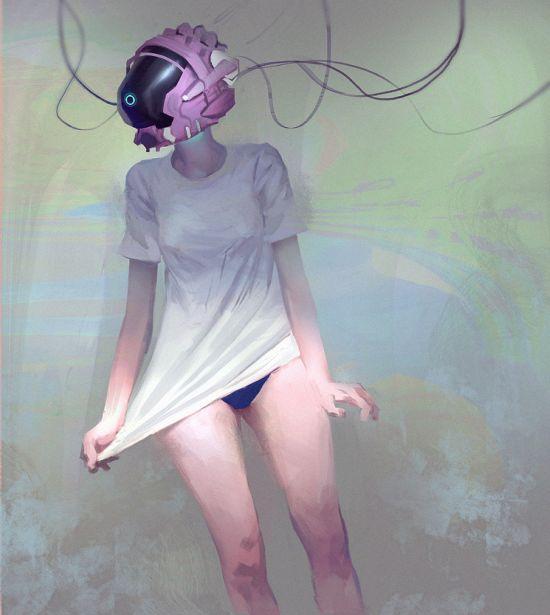 Miles Johnston deviantart ilustrações fantasia mulheres