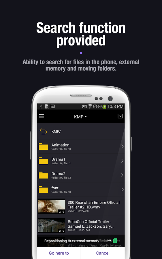 3 KMPlayer v.1.3.0 [Sin Anuncios] [Apk] [Android] [ZS]