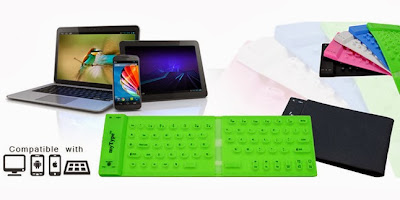 Keyboard dan Mouse Wireless / Bluetooth Keren - MizTia Respect