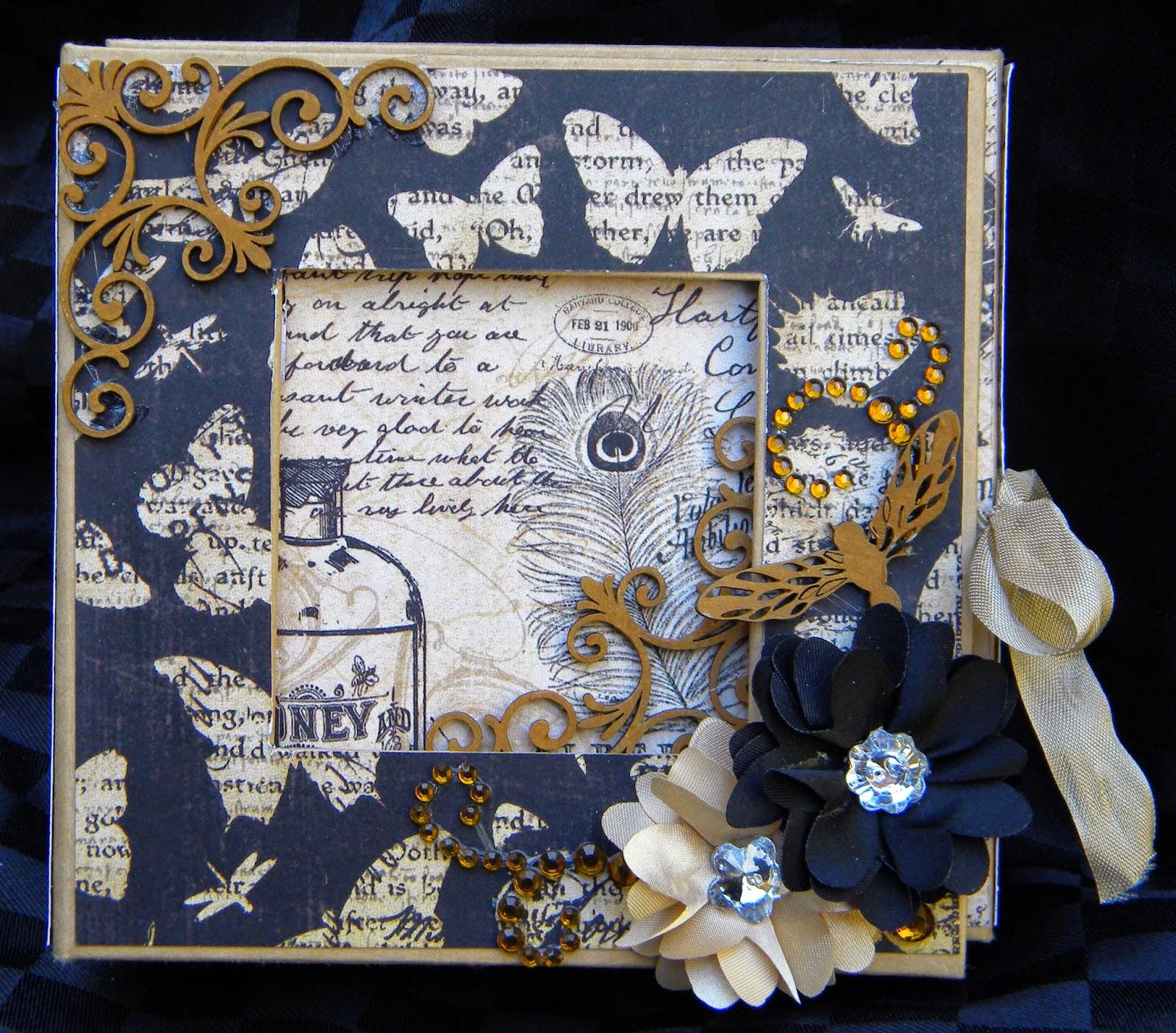 Memory Maze Design: Mini Album in a Box with Kim Kendall