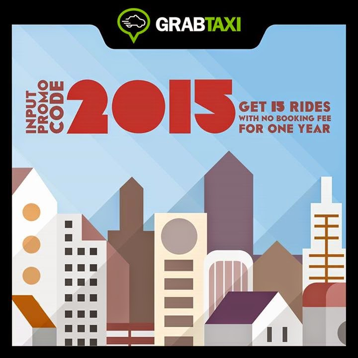 GrabTaxi Promo for 2015
