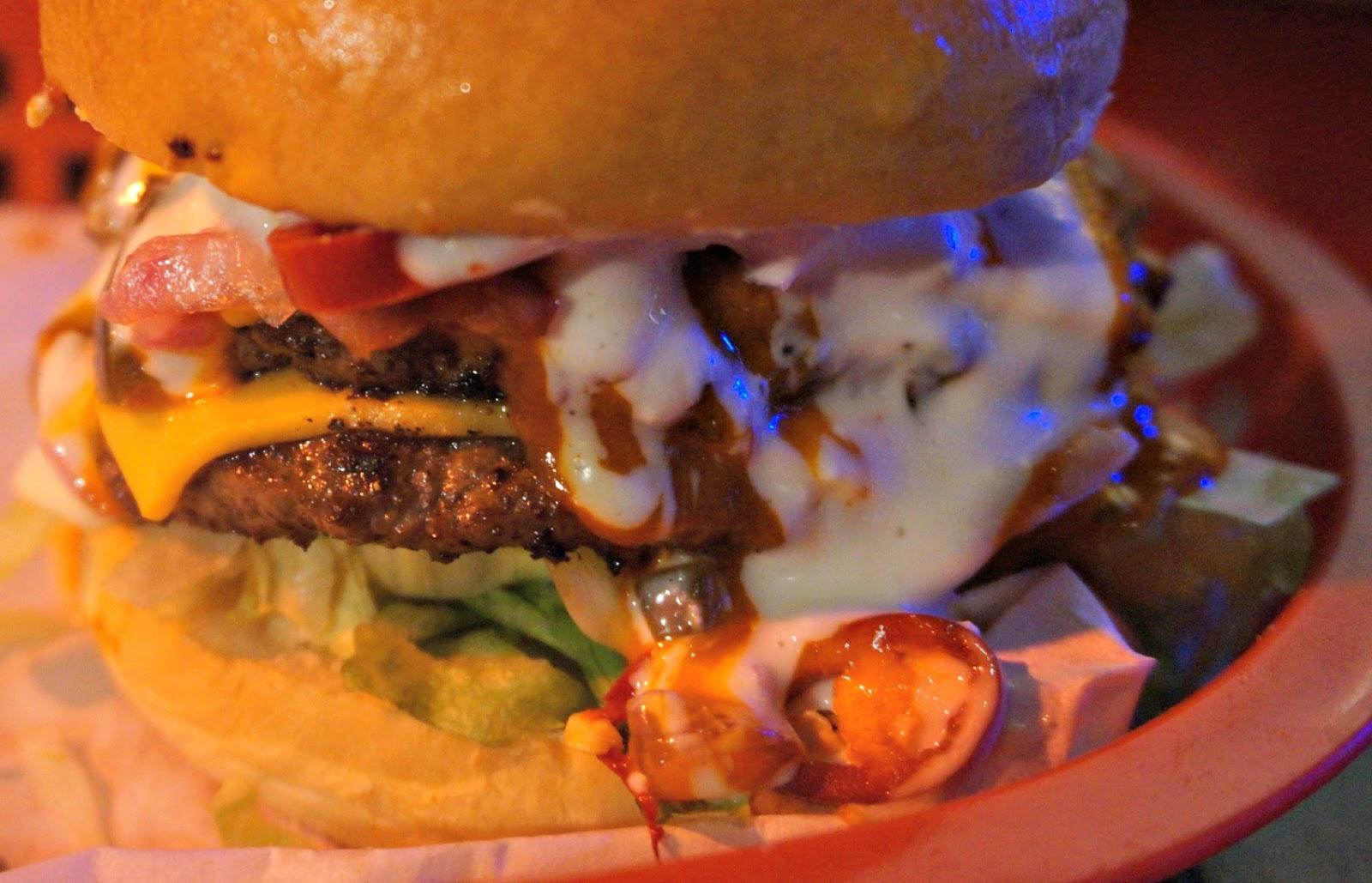 Almost Famous Burgers Liverpool Suicide Burger
