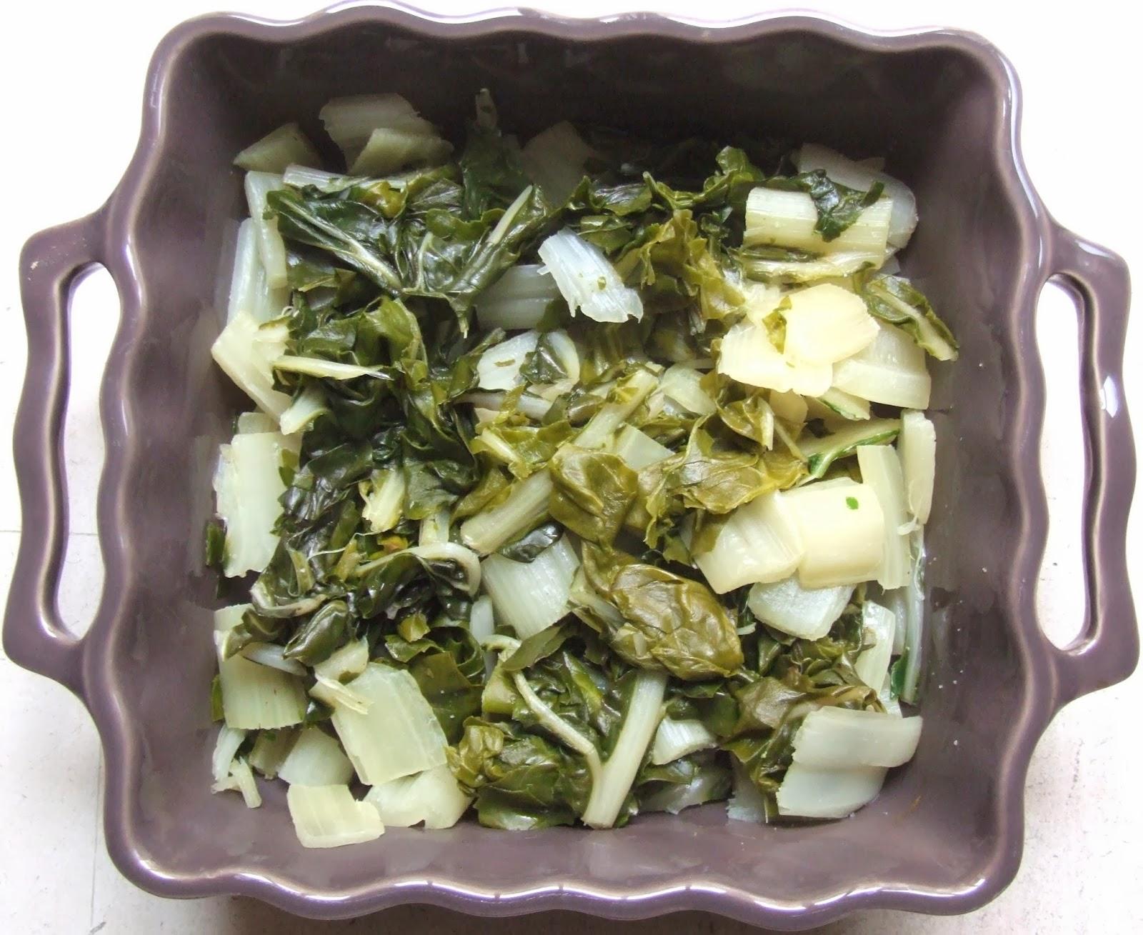 Cooking julia gratin de blettes - Comment cuisiner les feuilles de blettes ...