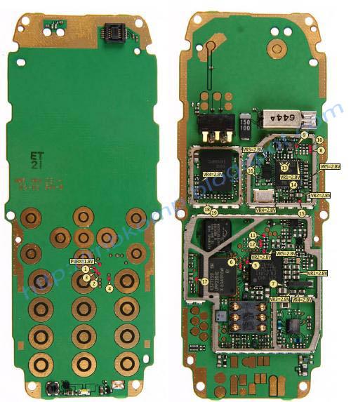 Nokia 2310 Schematic Diagram