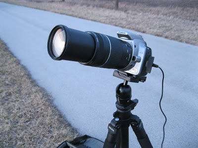 canon rebel xt with 300mm lens