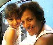 Minha irmã e minha neta Julia