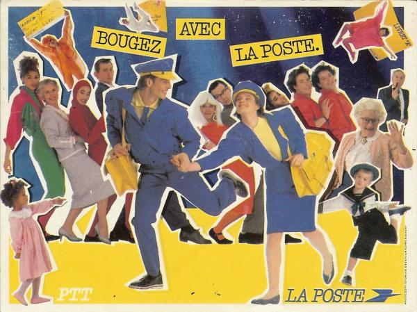 A postcard a day marianne and la poste for La poste reexpedition definitive