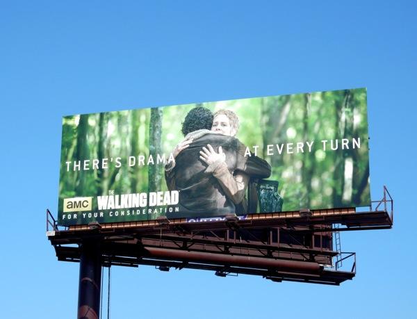 Walking Dead 2015 Emmy billboard