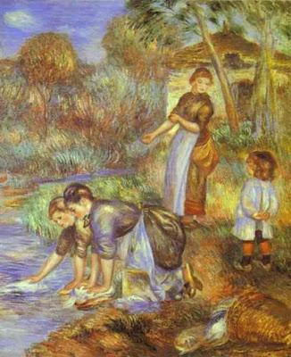 Το ποτάμι στα έργα τέχνης