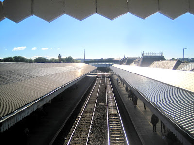 truro train station bridge