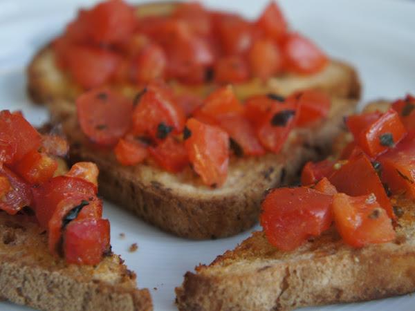 REZEPT: glutenfreie Bruschetta