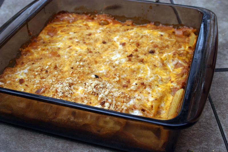 Eggplant Pasta Bake Recipe — Dishmaps